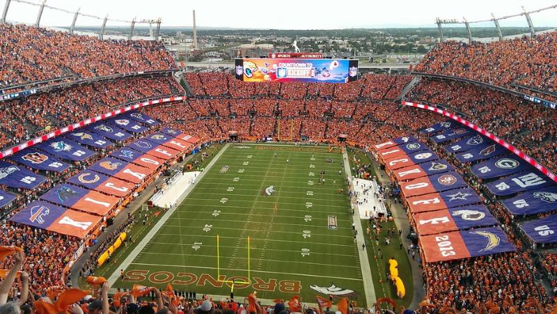 Party Bus Rental Mile High Stadium Denver